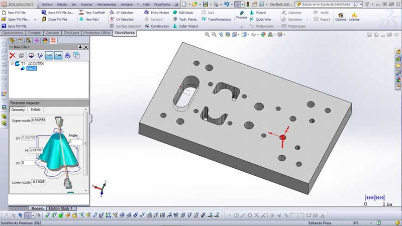 fikusWorks-Design-of-a-3D-solid-asemby